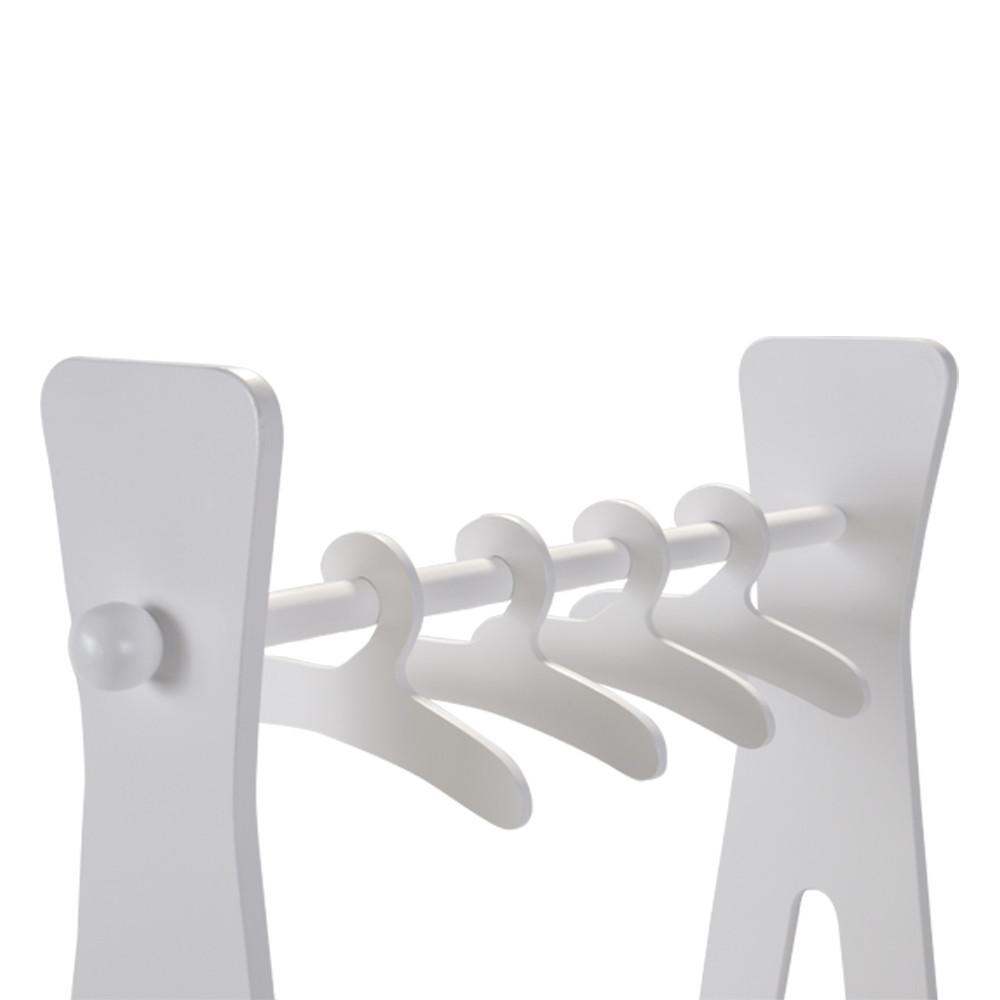 Hangers voor in het kleding- en schoenenrek.