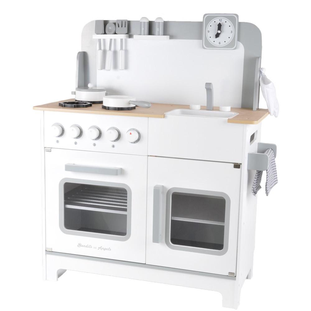 Houten kinderkeuken Chef Deluxe XL wit.