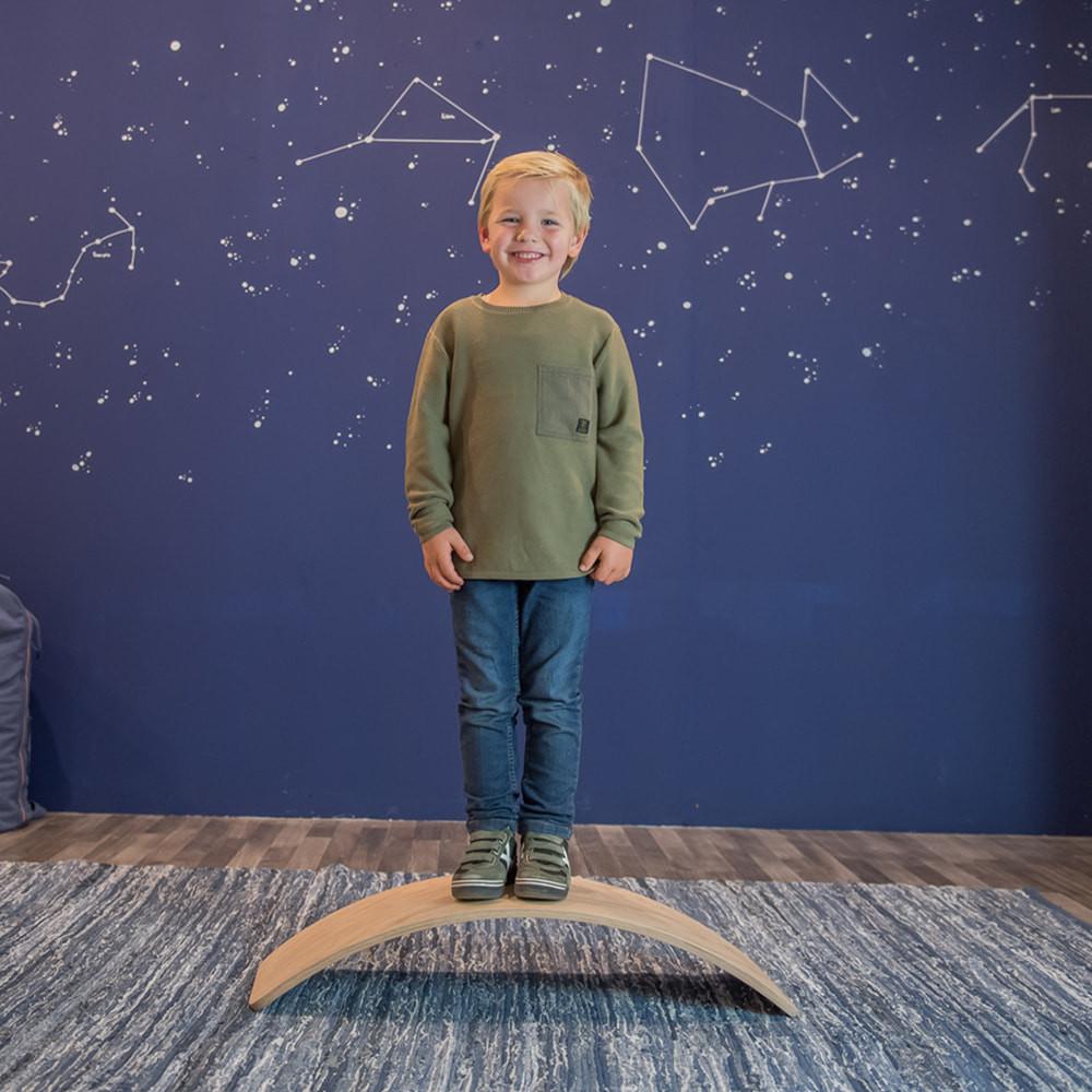 Pieter is 6 jaar oud en 1.16 m lang.