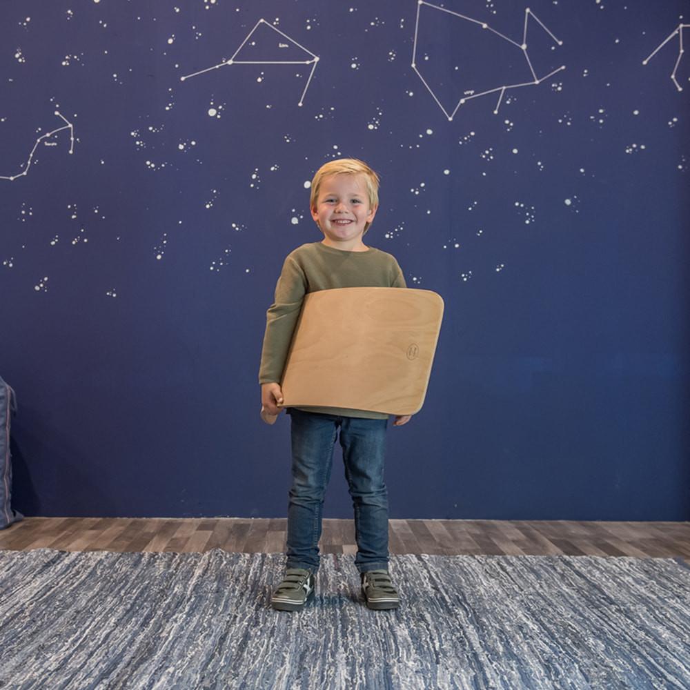 Board weegt 3,3 kg.