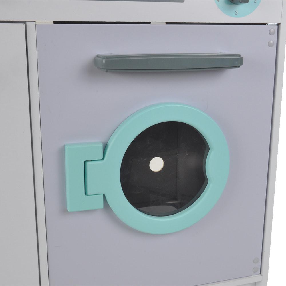 De wasmachine.