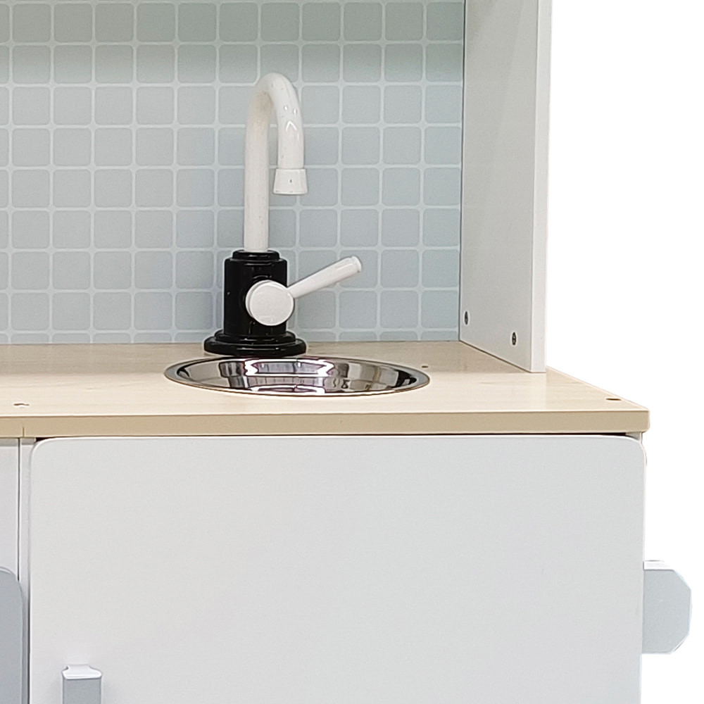 Wasbakje met kraan