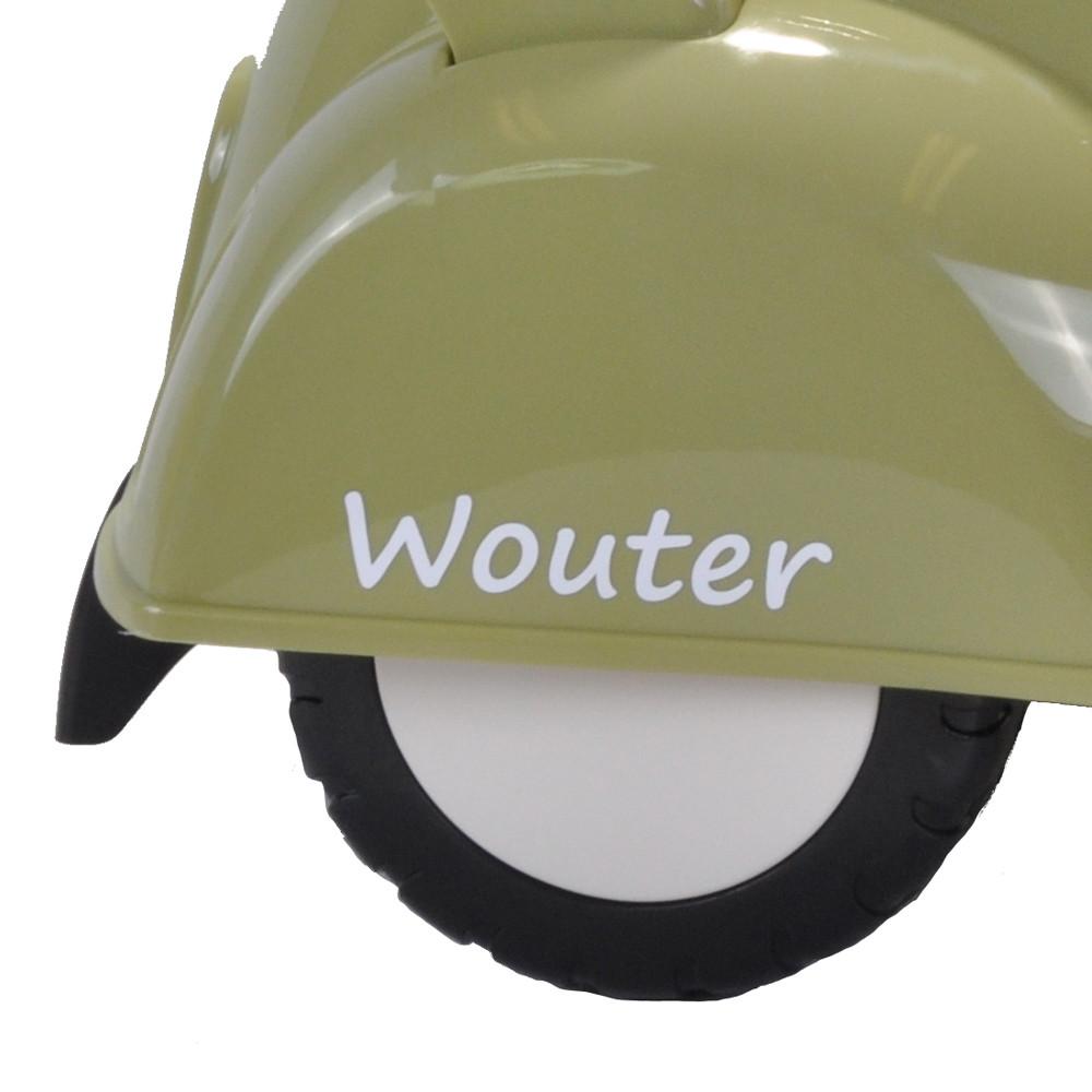 Stickerset voor de Scooter Retro Groen