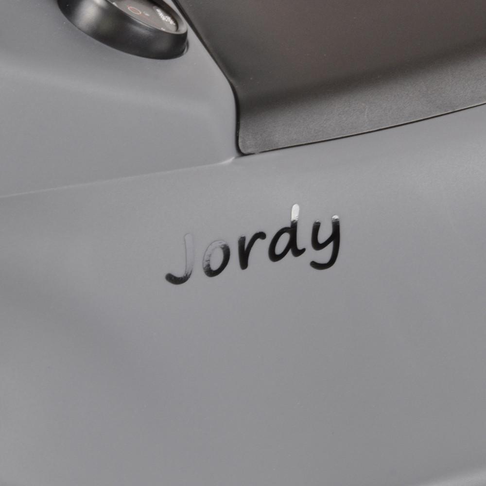 Zwarte naamsticker Porsche 911.