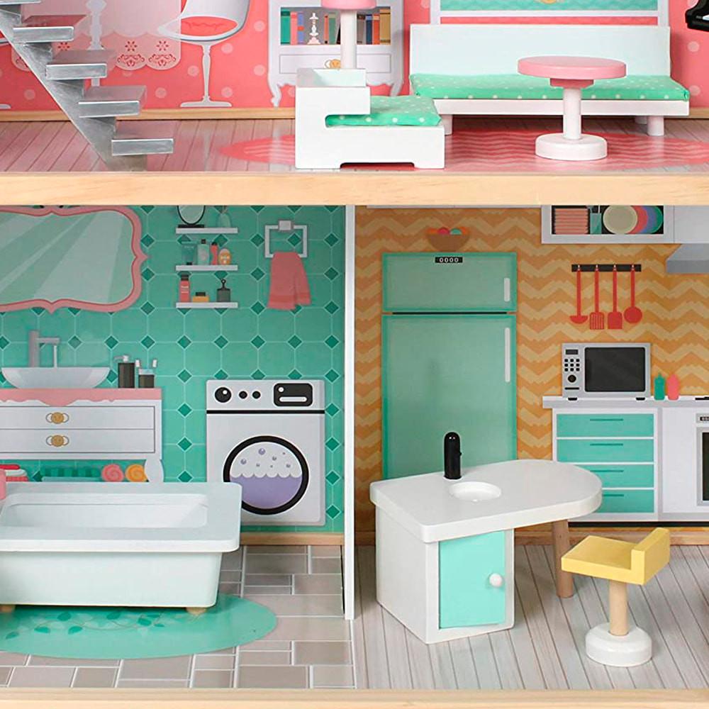 Badkamer en keuken beneden