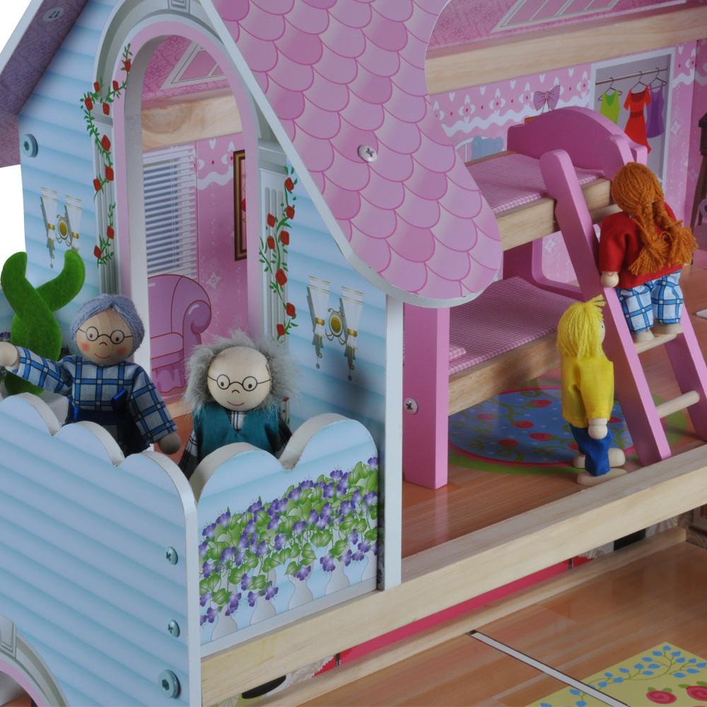 Optioneel: leuke poppenhuis poppetjes.