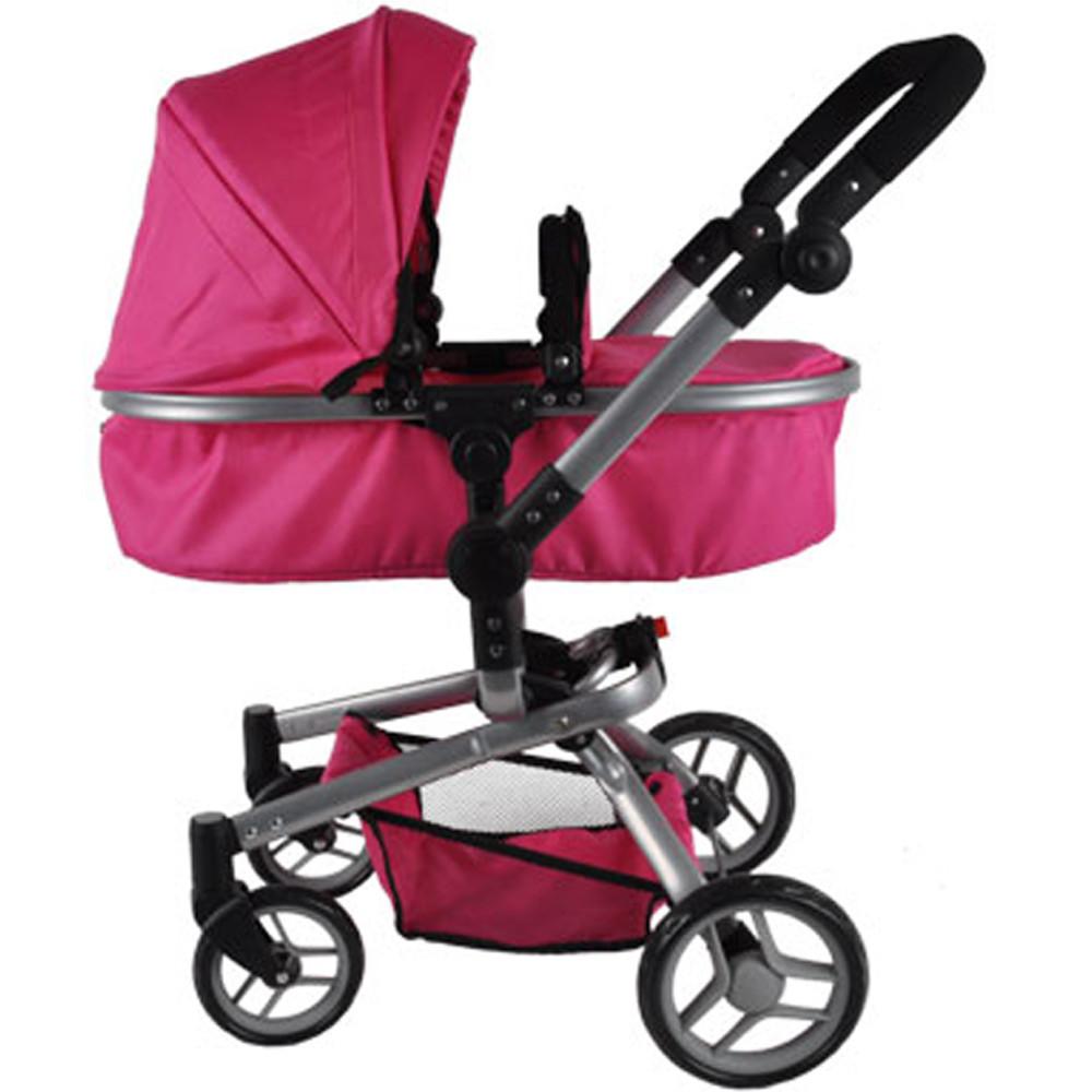 Pink Angel poppenwagen.