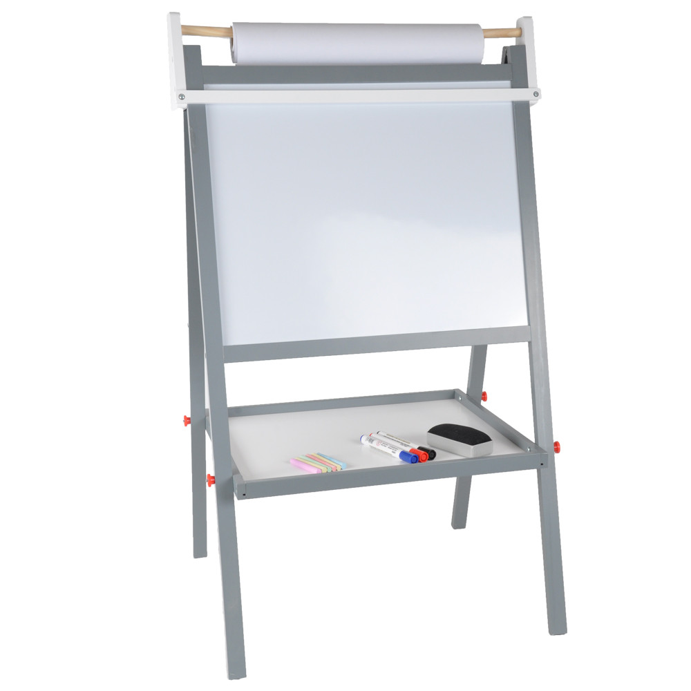 Kant met het magnetische whiteboard.