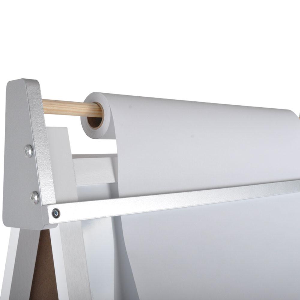 Met papierrol van 38 cm breed.