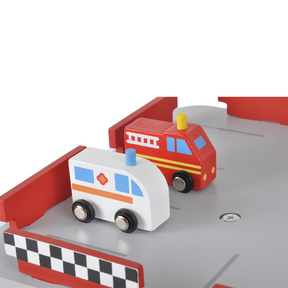 Brandweer en ambulance.